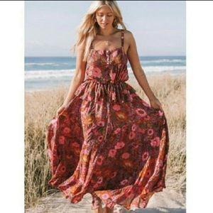 Spell Desert Bloom Maxi Skirt